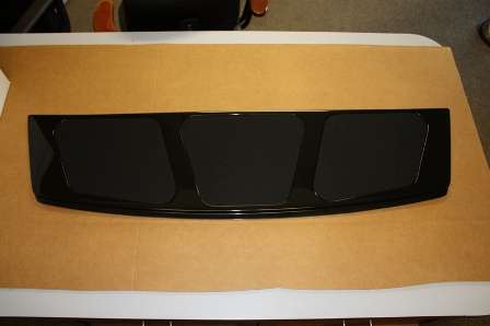 rear package tray speaker panel